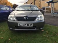 Toyota Corolla 1.4 salon type great drive 1 owner reliable and cheap, hpi clear