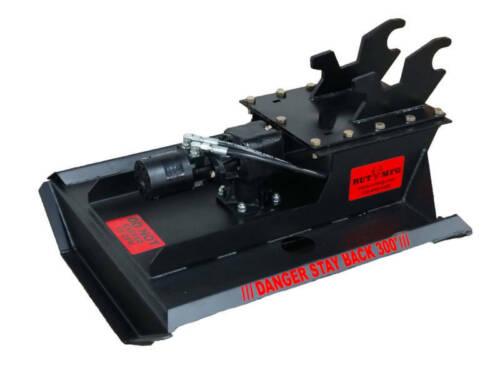 """42"""" Brush Mower Mini EXCAVATOR Cutter Mower USA made  FREE SHIP"""