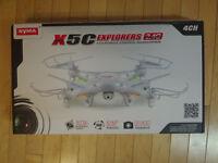 DRONE SYMA X5C ,X5SC ,X5SW ,X8W WIFI ,IMAGE EN D'IRECT NEUF