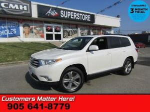 2012 Toyota Highlander Sport  4X4 (NEW TIRES) LEATHER ROOF CAM P