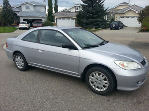 2005 Honda Civic LX Coupe (2 door)- Fantastic condition