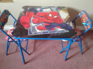 Spiderman Table & Chair Set