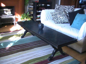 Large Marble Top (Couch/Sofa) Coffee Table ($265)