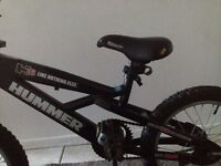 Hummer kids bicycle 16 inch in excellent condition