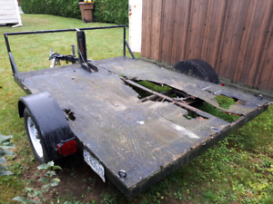 Trailer motocross VTT skidoo etc.
