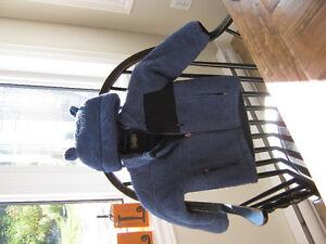 LLBean fleece  jacket with matching bear hat (Size 3) St. John's Newfoundland image 2