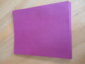 Brand new lot of 9 pink two pocket folders London Ontario image 2