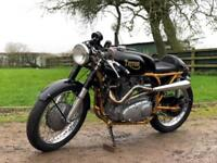 Triton Classic 750cc Cafe Racer Triple. One Of A Kind Machine!!