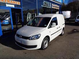 2012 VOLKSWAGEN CADDY C20 TDI BLUEMOTION 75 - 1 OWNER VAN DIESEL