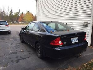 2004 Honda Civic 2Dr Coupe - for parts or fixing up