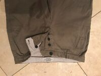 All saints olive green chinos