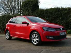 2014 VOLKSWAGEN POLO 1.2 MATCH EDITION HATCHBACK PETROL