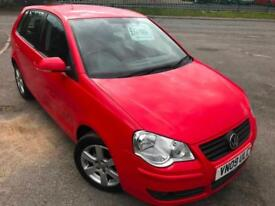 VW POLO 1.2 MATCH £19 WEEK NO DEPOSIT GREAT 1ST CAR CD A/C ALLOY 5 DR HATCH 2009