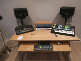Music production desk (handmade)