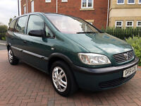 Vauxhall Zafira CLUB 1.8I 16V (green) 2001