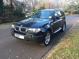 BMW X3 2.0 Sport diesel manual, FSH, 1 yr MOT, Heated Leather