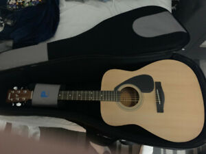 YAMAHA F310P Acoustic Guitar Pac with Profile DLX  BAG