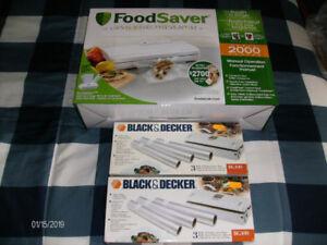 FoodSaver Vacuum Sealing Sytem with Starter Kit