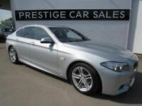 2013 BMW 5 Series 2.0 518d M Sport 4dr Diesel silver Manual