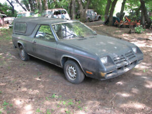 1982 Dodge Rampage great  project- runs