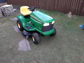 John Deere LT155 grassmonkey ride on mower