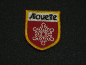Original New Alouette Snowmobile Small Crest