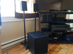 Paradigm Cinema CT Speaker System w/ Yamaha Sound Receiver