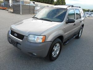 2001 Ford Escape XLT Auto 4x4 Great Condition Hatchback
