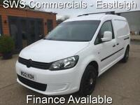 2012 (12) VW VOLKSWAGEN CADDY MAXI 1.6 TDI DIESEL WHITE 77K SIMILAR TRANSPORTER