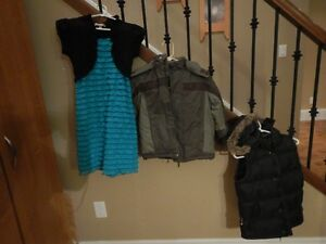 Kids jackets and dress