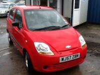 Chevrolet Matiz 0.8 S only 60,000 Miles DECEMBER MOT,BRIGHT RED,LOW INSURANCE
