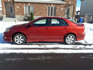 2007 Toyota Corolla Sport Sedan - low miliage