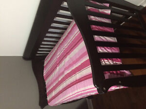 Tammy Convertible Crib, 4-in-one, toddler bed to double bed.