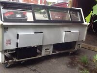 Used meat Commercial frigo