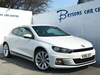 2016 16 Volkswagen Scirocco 1.4 TSI ( 125ps ) GT Manual for sale in AYRSHIRE
