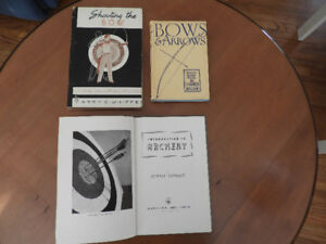 Archery collectible books