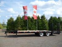 Tandem Dually Equipment Floats by Miska Trailers North Bay Ontario Preview