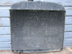1955 chevrolet brass and copper radiator