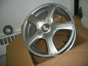 """Mag wheels for sale 17"""" 5-114 & 5-120 7 """" wide Exellent co"""