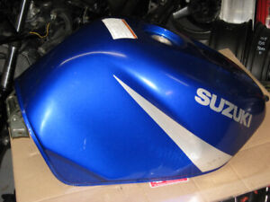 2001 -2002 suzuki gsxr -1000 gas tank blue oem