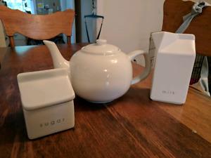 PC Ceramic Tea Set