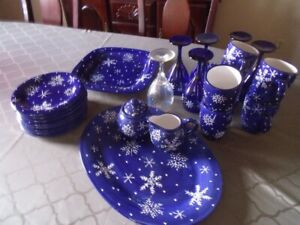Christmas Street Pattern  coffee set