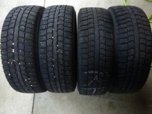 195 65 15 Pirelli Ice Control Snow Tires