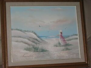 Oil Painting on Canvas Landscape Framed