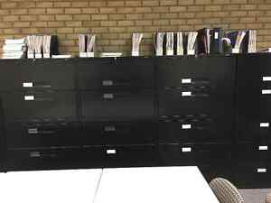Global 5 Drawer Lateral Filing Cabinets