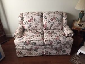 Stationary loveseat Strathcona County Edmonton Area image 1