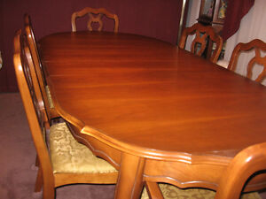 Elegant Cherrywood Dining Set $600.00