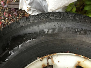 STUDDED WINTER TIRES AND RIMS FOR SALE