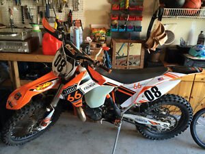 2015 300 KTM XC Dirt Bike *MAX 30HR USE* $7999 OBO