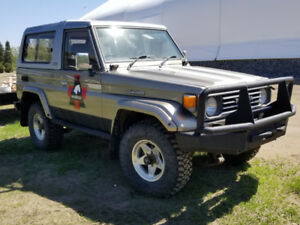 TOYOTA LANDCRUISER 1991 HZJ 73 Heavy Duty.  Better than New.